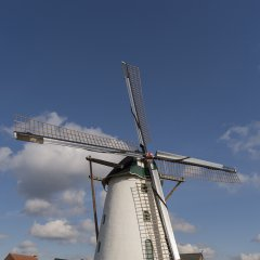 Bezoek de molen in Stormen Sterk - april