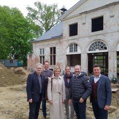 Uitbater De Melkerij zal koetshuis Hof Ter Linden uitbouwen tot kwalitatieve, kindvriendelijke brasserie