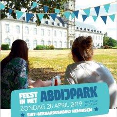 Feest in het abdijpark van Hemiksem!