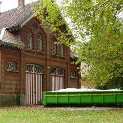 Eerste werken aan remise en kasteel Hof Ter Laken