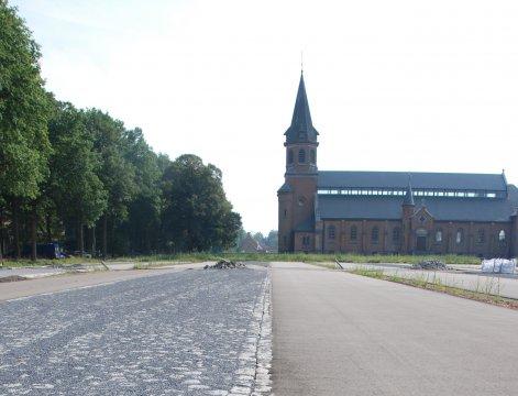 Bezoekersparking in Merksplas-Kolonie krijgt vorm